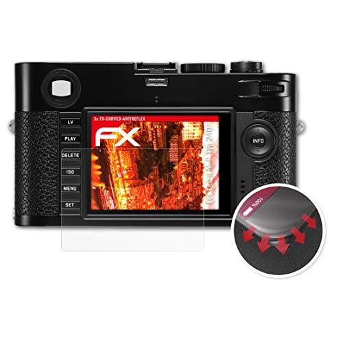 atFoliX Schutzfolie passend für Leica M-P Typ 240 Folie, entspiegelnde und Flexible FX Displayschutzfolie (3X)