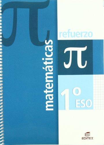 Refuerzo Matemáticas 1º ESO (Cuadernos de Refuerzo) - 9788497714389 por Marta García Heras