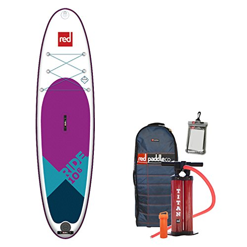 Red Paddle Co 2018 Ride 10\'6 Special Edition Inflatable Stand Up Paddle Board + Bag, Pump, Paddle & Leash