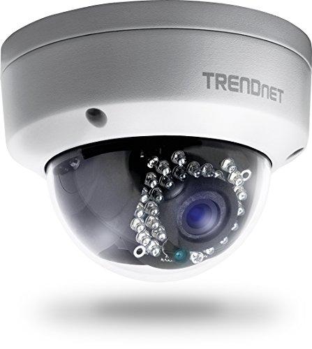 TRENDnet TV-IP321PI Indoor/Outdoor PoE IR Dome Netzwerk Kamera (1.3 Megapixel HD)