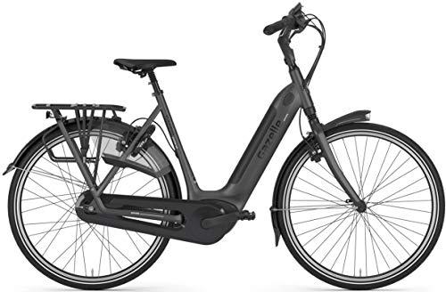 "Gazelle Grenoble C380 HMB 500Wh Bosch Elektro Fahrrad 2020 (28\"" Einrohr 49cm, Schwarz)"