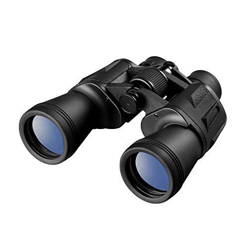 LESHP Prismáticos 20x50 - Binoculares Óptico Ideales para Observación de Aves, Acampada, Caza, Ópera, Conciertos, Deportes, Turísticas, Visita de Negocios