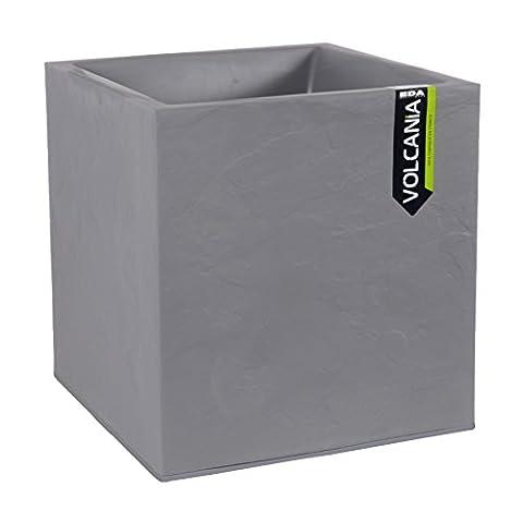 EDA Plastiques Pot carré VOLCANIA