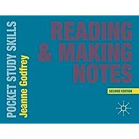 Reading and Making Notes: 23 (Pocket Study Skills)