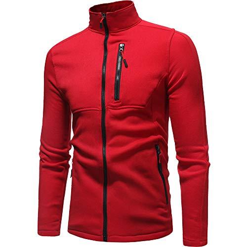Aoogo Herren Kapuzenpullover, Herren Herbst Winter Langarm Sweatshirt Patchwork Outwear Tops Bluse Sweatjacke Pullover Sweatshirt -
