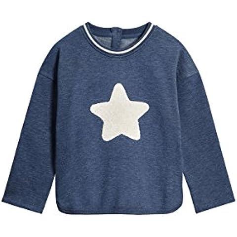 next Niñas Infantes Top Jersey Estampado De Estrella De Mezcla De Algodón (3 Meses-6 Años)