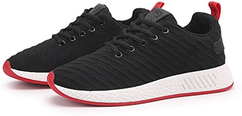 LVZAIXI Schuhe Herrenschuhe Jogging Flut Schuhe Winter Turnschuhe gemütlich ( Farbe : Schwarz   größe : EU/41/
