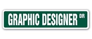 que es un diseñador web: Funny Decorative signos Diseñador Gráfico Street Sign diseño Web Logo artista ar...