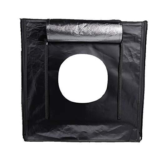 Professionelle Fotografie 24x24cm Light Box mit 1 LED-Lampen-Panel und 3 PVC Backdrops, Flicker-frei, Faltbare Cube, Portable Light Zelt, für Portrait und Produkt zu Verwenden Beleuchtung Portrait Panel