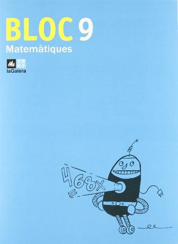 Bloc Matemàtiques 9-9788441215894
