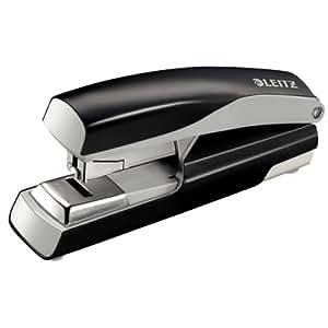 Leitz 55230095 Nexxt Starkes Flachheftgerät (40 Blatt, ohne Klammern) schwarz