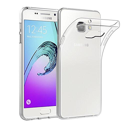 EasyAcc Samsung Galaxy A3 2016 Hülle, Schutzhülle Slimcase Backcover TPU Crystal Clear für Samsung Galaxy A3 A310F 2016, 4.7