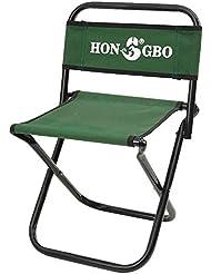 BUSL chaise de pêche tabouret pliant portable de pêche de camping en plein air