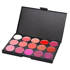 FantasyDay® 15 Couleurs Palette de Maquillage Rouge à Lèvres Lip Gloss Cosmétique Set – Convient Parfaitement pour une…