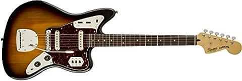 Guitares électriques SQUIER BY FENDER VINTAGE MODIFIED JAGUAR 3 TONS SUNBURST Rétro - néo-vintage