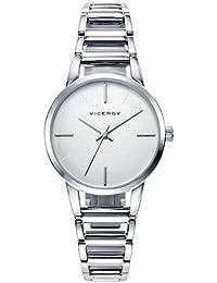 Viceroy Reloj Analogico para Mujer de Cuarzo con Correa en Acero Inoxidable  471076-17 e92cd75ffd33