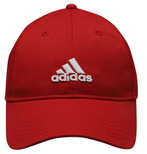 Adidas Golf 2014- Cappellino Performance Max da uomo, con comoda regolazione laterale Rot Taglia unica