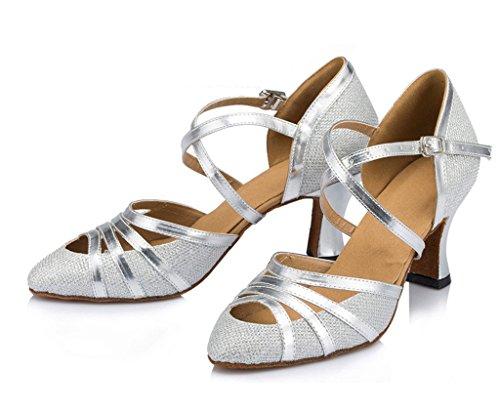 Meijili - Ballroom donna Silver