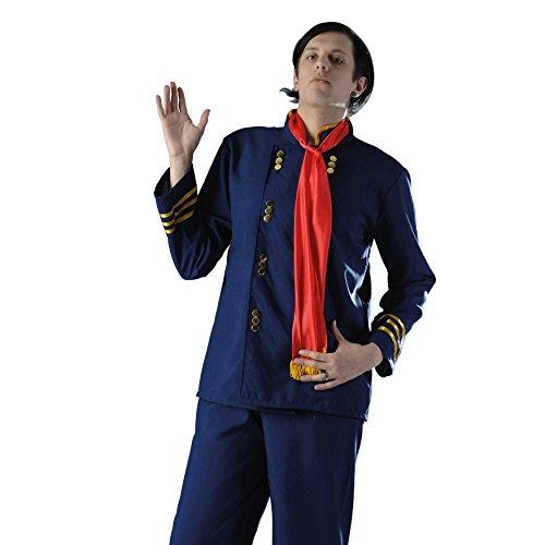 Zoelibat 97025441.059M - Herren Kostüm Nordstaaten-General - 3 teilig - Groß M (48/50), dunkelblau / rot / (Kostüme Herren Bürgerkrieg)