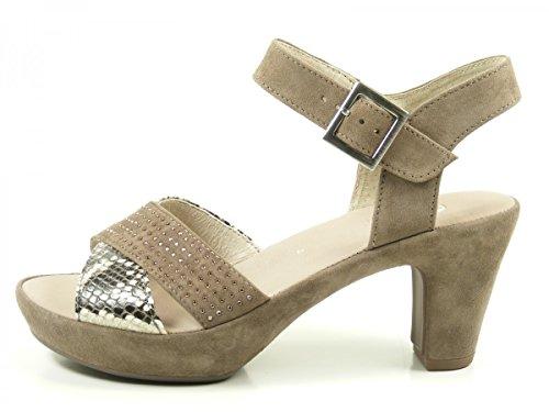 Gabor, Damen Sandalette, 65.752.11 - Caruso Ice Braun