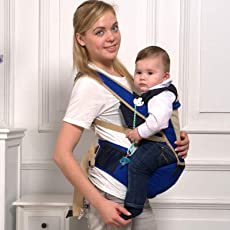 GTC High Quality Kid Toddler Baby Sling Hip Seat Carrier (IT N -A6603) (Blue)