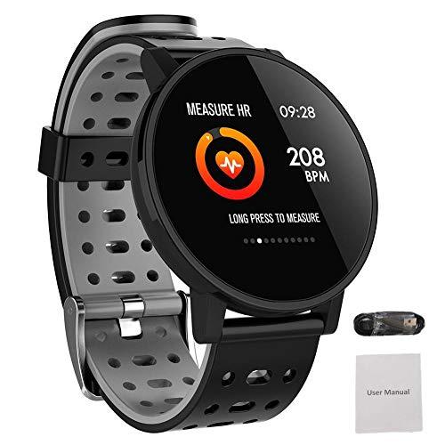 Fitness Tracker mit Herzfrequenz-Monitor, Schlaf, Wasserdichte Aktivität Tracker mit Schrittzähler, Kalorienzähler, Multifunktions-Uhr