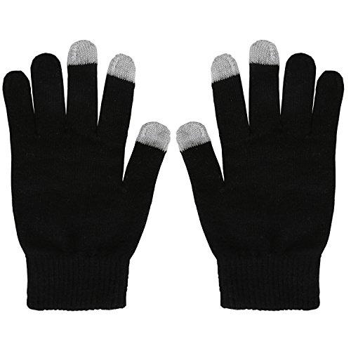 Magic Zone Damen Winterhandschuhe Stretch Kaschmir Handschuhe Touchscreen Handschuhe Damen Volltonfarbe Warm Gestrickte Dicke Warme Handschuhe (Winter-handschuhe Benutzerdefinierte)