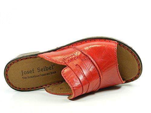 Josef Seibel 62905 Rebecca 05 sabots et mules femme Rouge