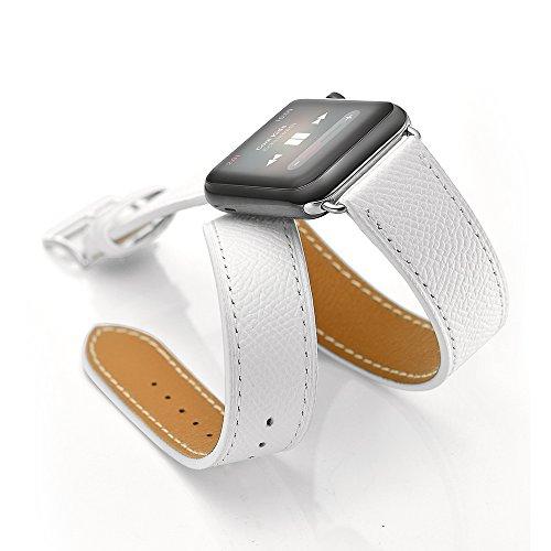 cinturino-apple-watchsundareer42mm-apple-bracciale-vera-pelle-strap-wrist-band-orologio-sostituzione