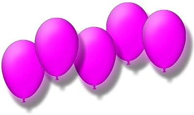 5 blinkende LED Luftballons in PINK inklusive Leuchtmittel und Batterien. Befüllbar mit Helium oder Luft! von KnickLichter.de bei Lampenhans.de