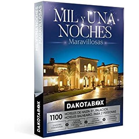 DAKOTABOX - Caja Regalo - MIL Y UNA NOCHES MARAVILLOSAS - 1100 Palacetes, hospederías, y exquisitos hoteles de hasta