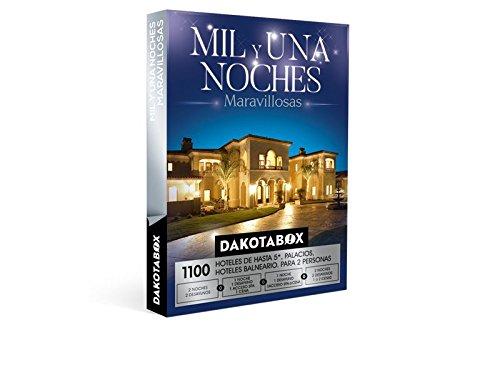 DAKOTABOX – Caja Regalo – MIL Y UNA NOCHES MARAVILLOSAS – 1100 Palacetes, hospederías, y exquisitos hoteles de hasta 5*