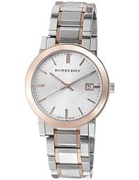 BURBERRY BU9006 - Reloj para hombres, correa de acero inoxidable