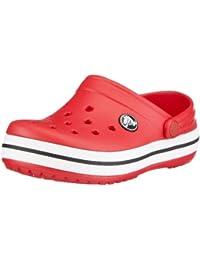 Crocs Crocband - Zuecos con correa para niños