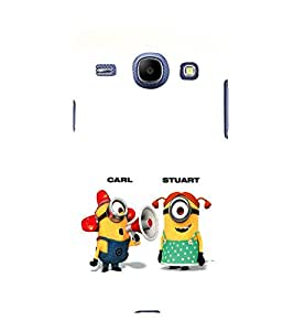 printtech Minions Back Case Cover for Samsung Galaxy On7
