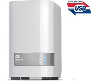 """WD My Cloud Mirror (WDBZVM0040JWT-EESN) - 4 To (2 x 2 To) - Disque dur externe 3,5"""" (rackable)"""