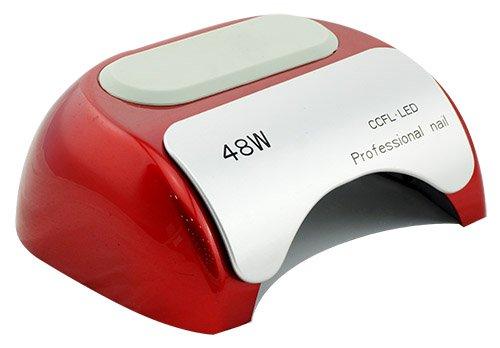 Crisnails® Secador de Uñas de Inducción Automático con Temporizador CCFL + LED UV Lámpara de Luz...
