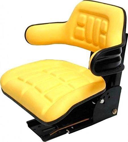 Trattore John Deere CC 2MC1cabina trafficanti sedile giallo adatto