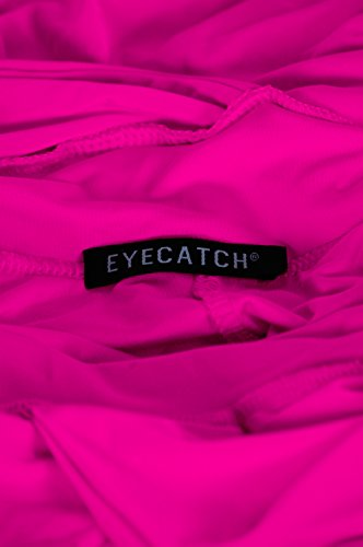 EyeCatchClothing - Nicole Neckholder Kleid Rosa