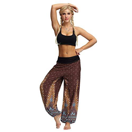 Leicht Zu Trainieren Fitness Sport Im Freien Frauen Beiläufige Lose Hippie Yoga Hosen Baggy Boho Aladdin Hosen Yebutt Ballonhose Pluderhose