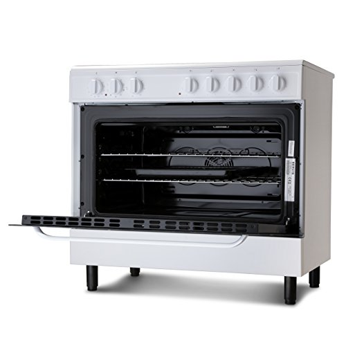 Servis SC900W | 90cm Electric Range Cooker in White | Ceramic Hob