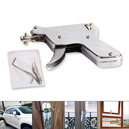 Unlock-tool (Miji Locksmith Unlock Gun Auto Locksmith Tools Lock Pick Gun L Manual Household Hardware Tool)