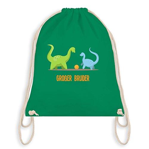 Geschwisterliebe Kind - Großer Bruder Dinosaurier - Unisize - Grün - WM110 - Turnbeutel & Gym Bag