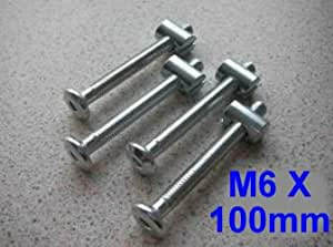 Bolts M6 x 60mm for Cots (Pack of 4) (Product Code - U-B0601C)