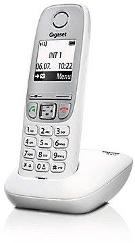 Gigaset A415 Telefon - Schnurlostelefon / Mobilteil mit Grafik Display - Dect-Telefon mit Freisprechfunktion - Analog Telefon - Weiss - 2