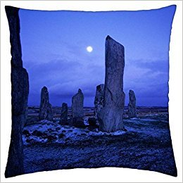 Free-shipping Callanish Standing Stones Isle Of Lewis Scotland - Throw Pillow Cover Case (18