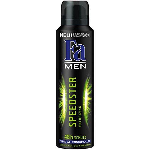 Fa Men Deospray Speedster 48h, 6er Pack (6 x 150 ml)
