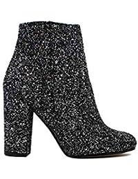 vasta selezione di 7ebbc e042e Amazon.it: GLITTER - Stivali / Scarpe da donna: Scarpe e borse