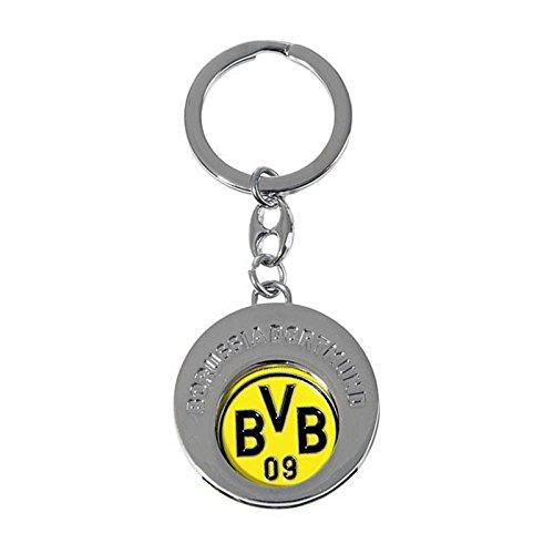 BVB-Schlüsselanhänger m. Einkaufschip one size
