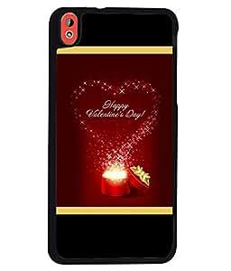 Printvisa 2D Printed Love Designer back case cover for HTC Desire 816G - D4167